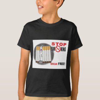 Stop Smoking Reminders - No More Butts T-Shirt