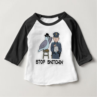 stop snitching pigeon baby T-Shirt
