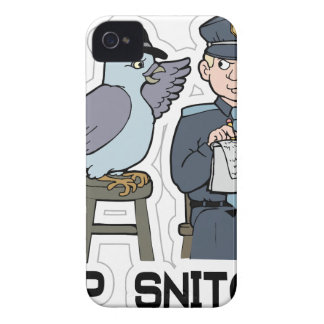 stop snitching pigeon Case-Mate iPhone 4 cases