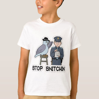 stop snitching pigeon T-Shirt