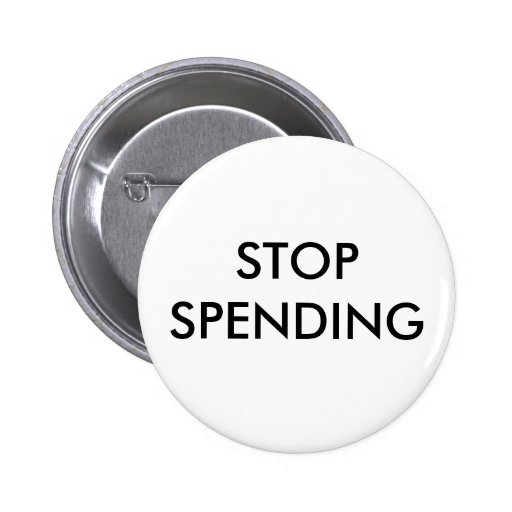 STOP SPENDING BUTTON