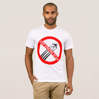 Stop Spraying Us t-shirt