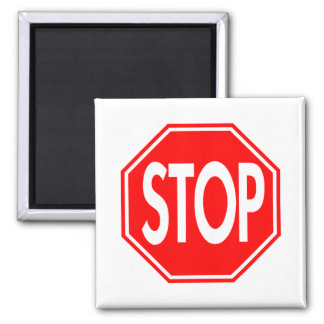 Stop Square Magnet