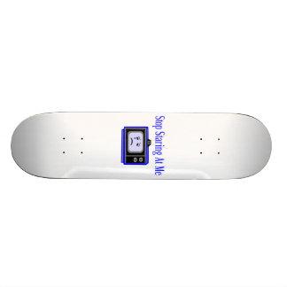 Stop Staring At Me Television Set Skateboard Decks