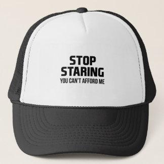 Stop Staring Trucker Hat