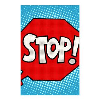Stop Stationery