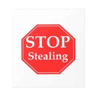 Stop Stealing Notepad