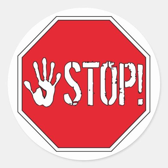 Stop! Sticker