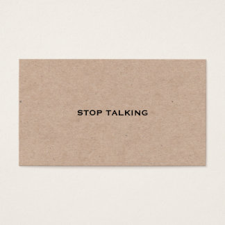 Rude Business Cards and Business Card Templates