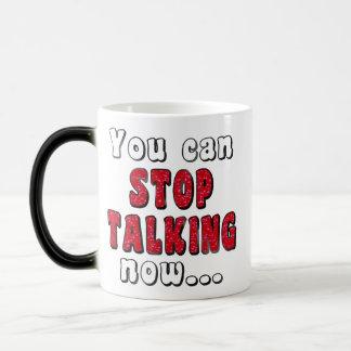 STOP TALKING #StopTalking ...Fun Humour Magic Mug
