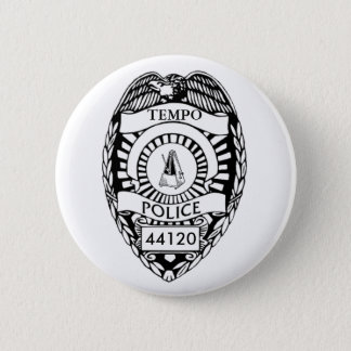 Stop! Tempo Police! 2 Inch Round Button