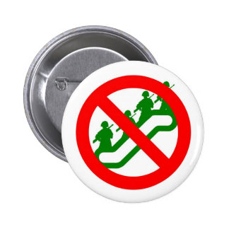 STOP THE ESCALATION 2 INCH ROUND BUTTON