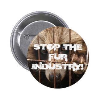 Stop the Fur Industry Pin