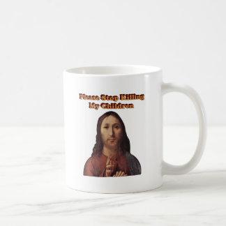Stop the Killing Classic White Coffee Mug