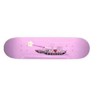 Stop the Pew Pew Skateboard Decks