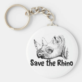 Stop the poaching wildlife key ring