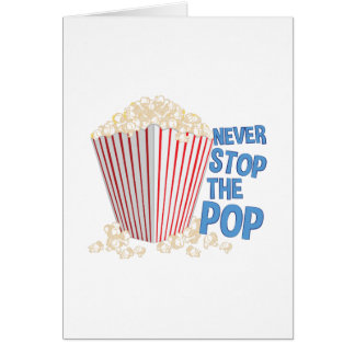 Stop The Pop Card