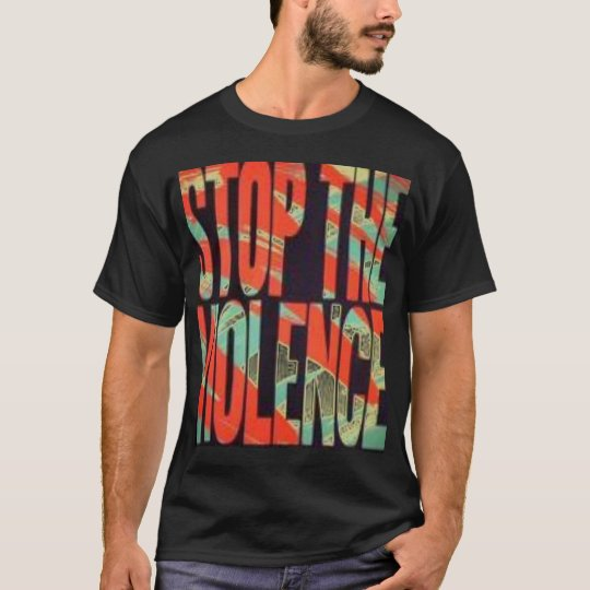 Stop The Violence 4u2nv T-Shirt