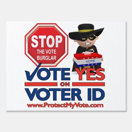 Stop the Vote Burglar
