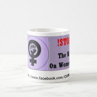 Stop the War on Women Coffee Mug