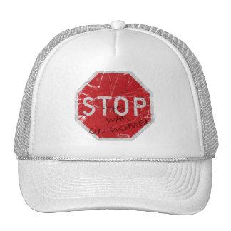 Stop the War on Women Trucker Hat