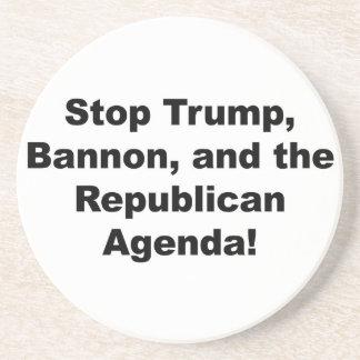 Stop Trump, Bannon and the Republican Agenda Coaster