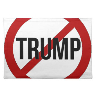 Stop Trump Placemat
