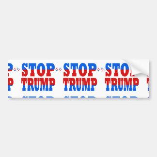 Stop Trump Republican GOP Politics StopTrump Bumper Sticker