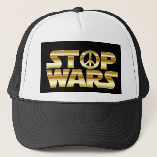Stop wars, hat, for sale ! trucker hat