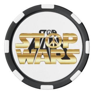 Stop wars poker chips