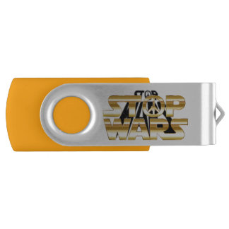 Stop wars USB flash drive