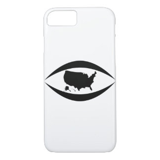 Stop watching  the USA people Case-Mate iPhone Case