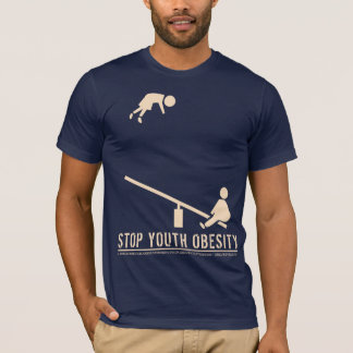 Stop Youth Obesity (crisp) T-Shirt