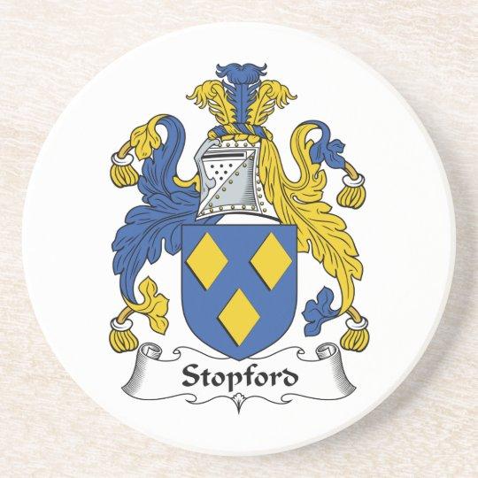 Stopford Family Crest Coaster