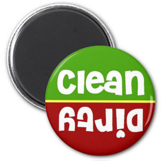 Stoplight Clean Dirty Dishwasher Magnet