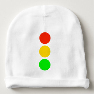 Stoplight Colors Baby Beanie