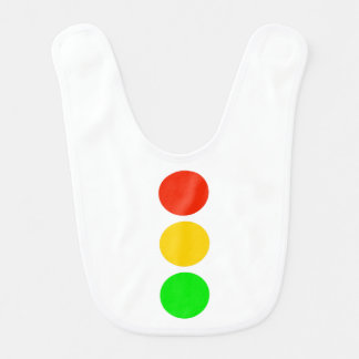 Stoplight Colors Baby Bibs