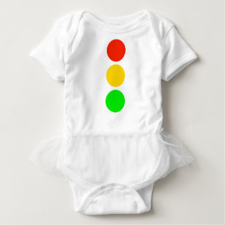 Stoplight Colors Baby Bodysuit