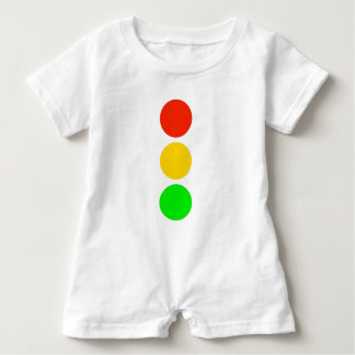 Stoplight Colors Baby Romper