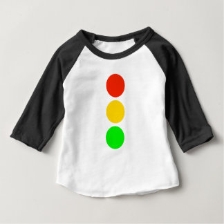 Stoplight Colors Baby T-Shirt