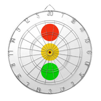 Stoplight Colors Dartboard
