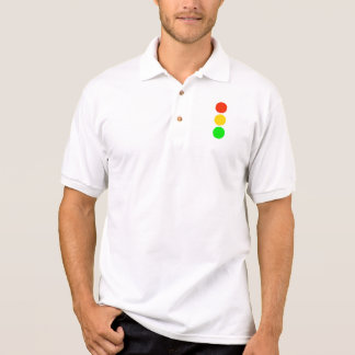 Stoplight Colors Polo Shirt