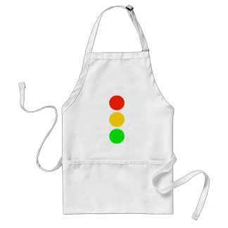 Stoplight Colors Standard Apron