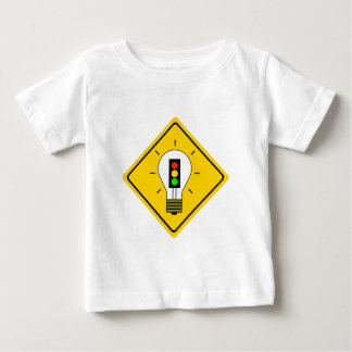 Stoplight Lightbulb Ahead Baby T-Shirt