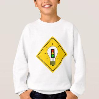 Stoplight Lightbulb Ahead Sweatshirt