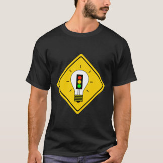Stoplight Lightbulb Ahead T-Shirt