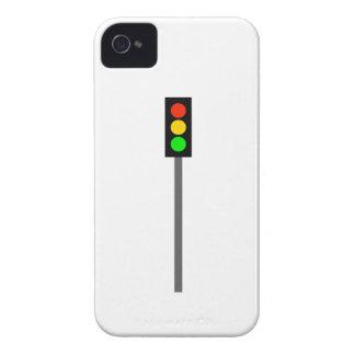 Stoplight on Pole iPhone 4 Cases