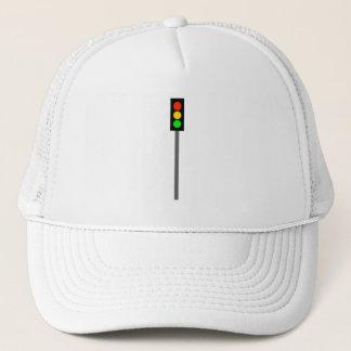 Stoplight on Pole Trucker Hat