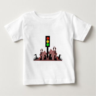Stoplight with Bunnies Baby T-Shirt