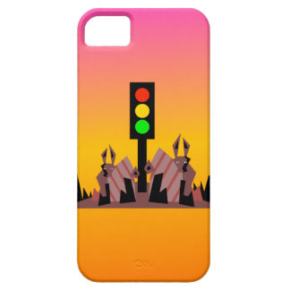 Stoplight with Bunnies, Dreamy Background Case For The iPhone 5
